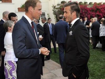 David Beckham a Princ