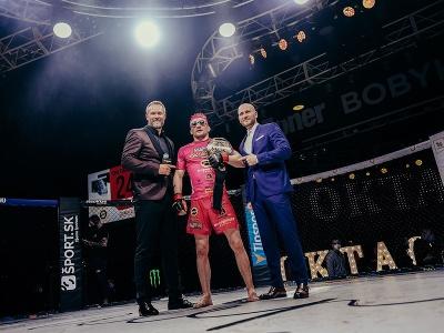 David Kozma obhájil titulový opasok vo welterovej hmotnosti (do 77 kg)
