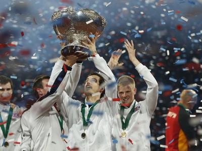 Briti sa po 79 rokoch tešia z titulu v Davis Cupe!