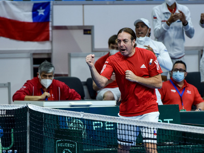 Tréner Čile Nicolas Massú