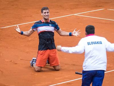 Slovenský tenista Martin Kližan