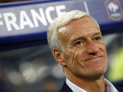 Didier Deschamps s vysmiatou