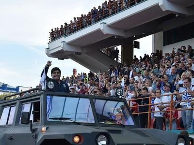 Maradona prišiel do novej