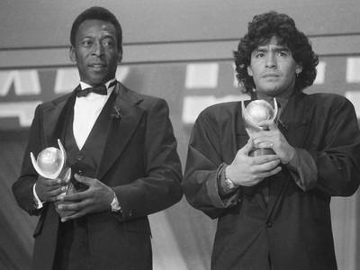 Legendárne duo Brazílčan Pelé