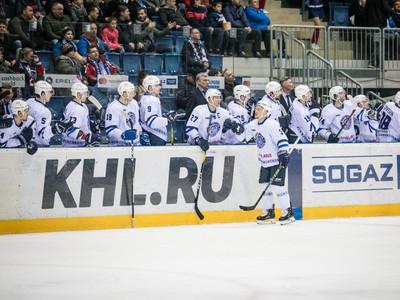 Radosť hráčov Dinamo Minsk