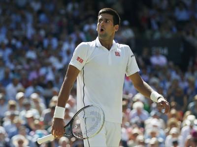 Novak Djokovič v zápase