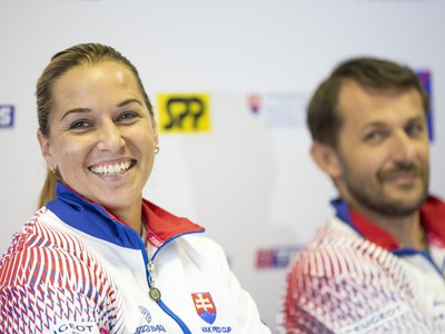 Dominika Cibulková a Matej