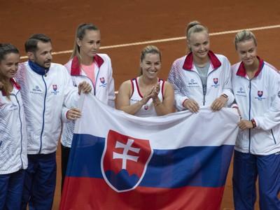 Slovenský fedcupový tím po
