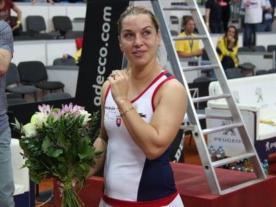 Dominika Cibulková po víťaznej derniére vo fedcupovom tíme Slovenska