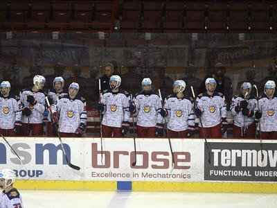Hráči Zvolena búchajú hokejkami