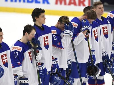Slovenskí hokejoví mladíci po