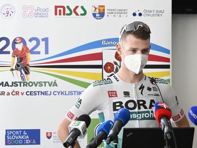 Cyklista Erik Baška