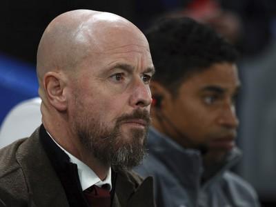 Na snímke tréner Ajaxu