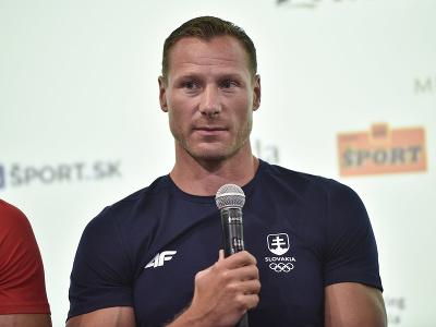 Rýchlostný kanoista Erik Vlček