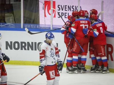 Hokejisti Ruska sa tešia