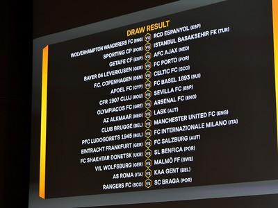 Dvojice šestnásťfinále Európskej ligy