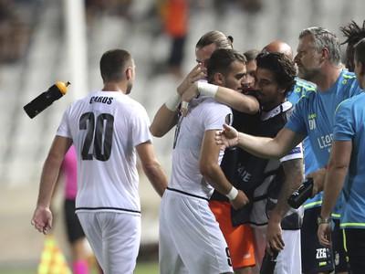 Gólové oslavy futbalistov F91