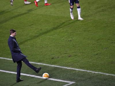 Tréner Glasgowu Rangers Steven Gerrard
