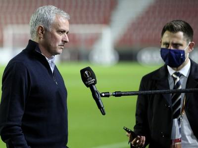 José Mourinho po zápase