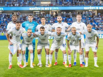 Hráči z ŠK Slovan