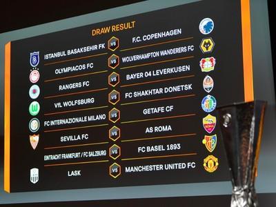 Osemfinálový žreb Európskej ligy