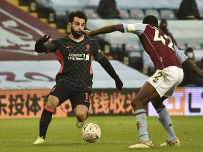 Mohamed Salah sa snaží