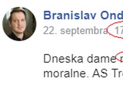 Predzápasový post napadnutého fanúšika AS Trenčín