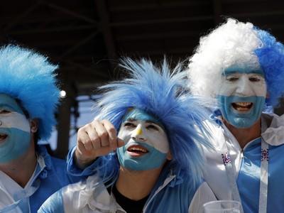 Fanúšikovia Argentíny