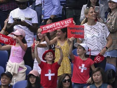 Federerovi fanúšikovia sú skrátka všade
