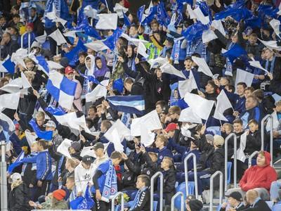 Detskí fanúšikovia povzbudzovali Slovan