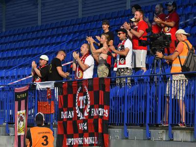 Fanklub MFK Tatran Liptovský Mikuláš v 1. kole futbalovej Fortuna ligy MFK Tatran Liptovský Mikuláš – ŠK Slovan Bratislava v Poprade