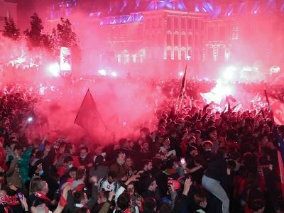 Fanúšikovia OSC Lille bujaro