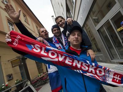 Slovenskí futbaloví fanúšikovia v