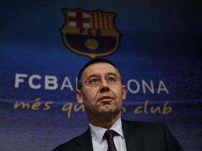Prezident Barcelony Josep María