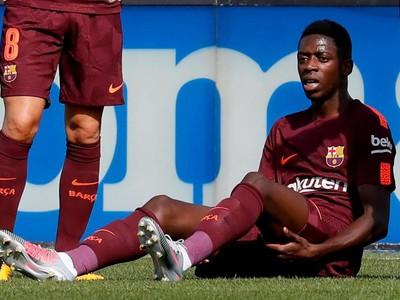 Ousmane Dembélé sa opäť