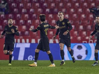 Futbalisti Barcelony sa tešia z gólu