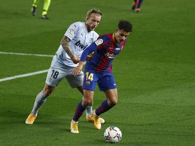 Philippe Coutinho v zápase