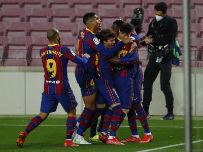 Futbalisti Barcelony sa tešia