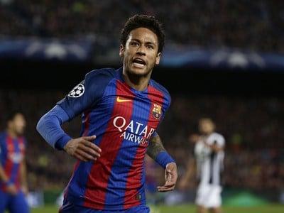 Hráč Barcelony Neymar