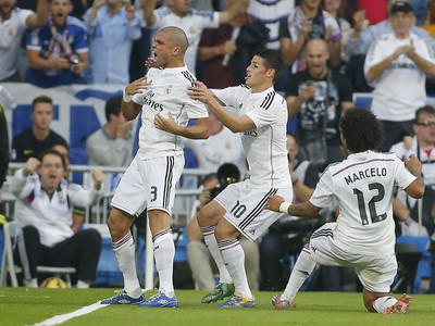 Radosť hráčov Realu Madrid