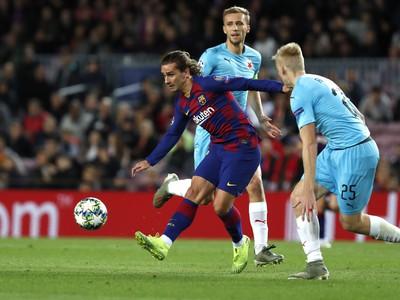 Na snímke hráč Barcelony