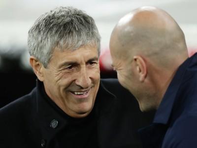 Quique Sétien a Zinedine Zidane