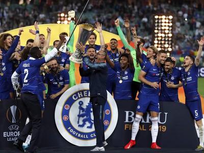 Radosť hráčov Chelsea z