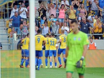 Radosť hráčov FC DAC