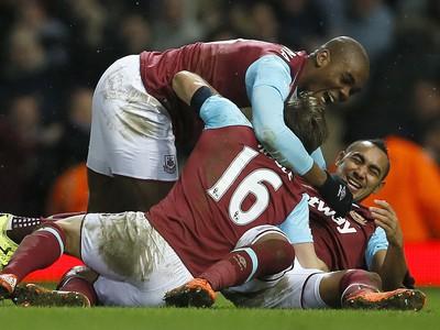 Radosť hráčov West Hamu
