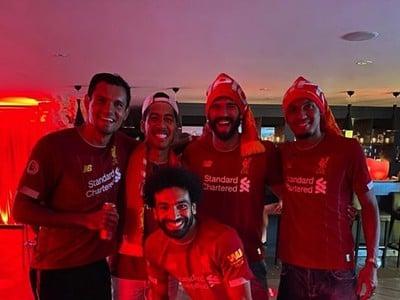 Hráči Liverpoolu oslavovali majstrovský titul