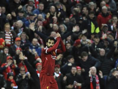 Mohamed Salah bol ústrednou postavou Liverpoolu