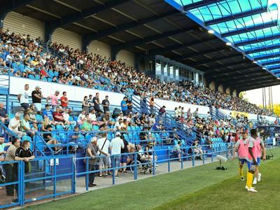 Fanúšikovia na zápase FC