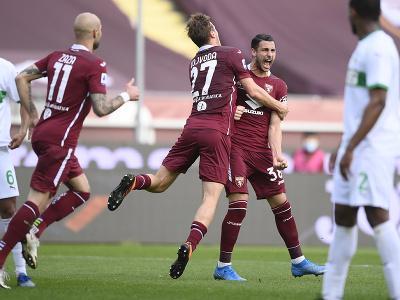 Radosť hráčov FC Turín