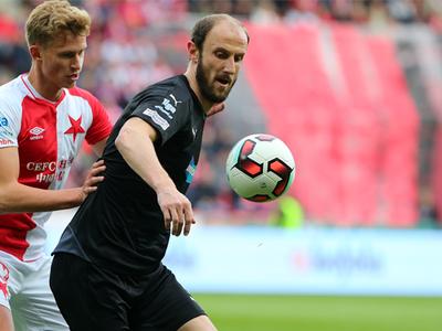 Slavia doma najtesnejším rozdielom
